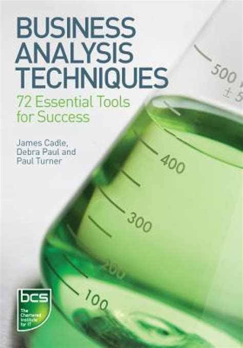 Tools Of Englishpaperback business analysis techniques 72 essential tools for success buy business analysis techniques
