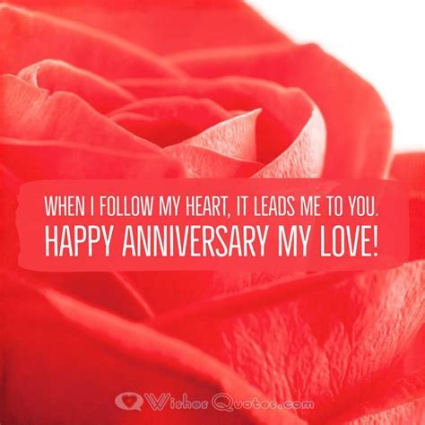 Deepest Wedding Anniversary Messages for Wife