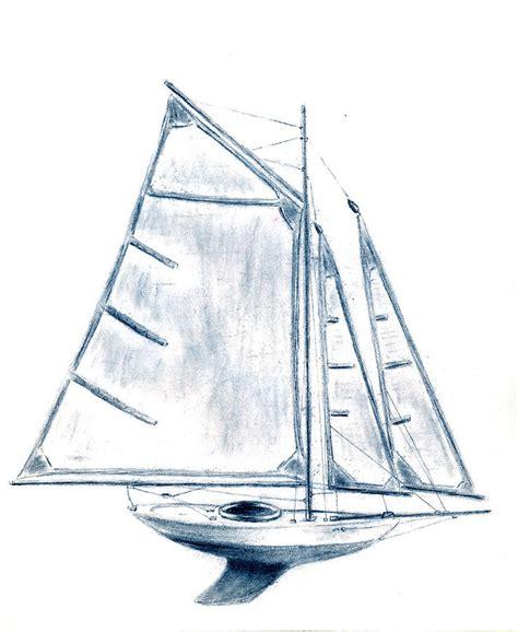 sail boat by michael vigliotti