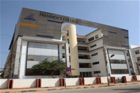 Presidency College Mba by Presidency College Bangalore Best B School For Mba