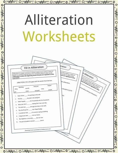 pattern definition preschool alliteration worksheets for year 3 worksheet exle
