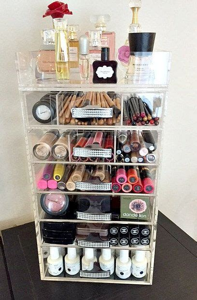 Makeup Organizer clear acrylic makeup organizer handle