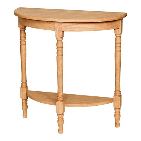 turned leg foyer table amish crafted furniture