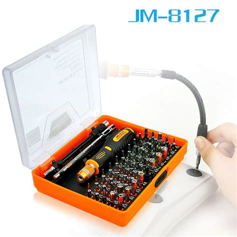 Jakemy 22 In 1 Screwdriver Set jakemy 53 in 1 multi purpose precision magnetic screwdriver set with torx hex cross flat y