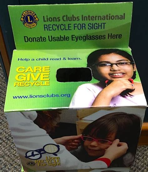 where to recycle eyeglasses in boston updating a reader