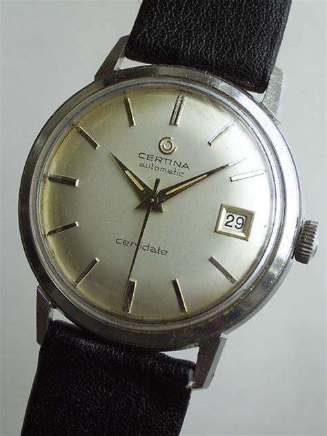 Certina C0114172103700 Swiss Made Original bidfun db archive wrist watches 826 gents certina