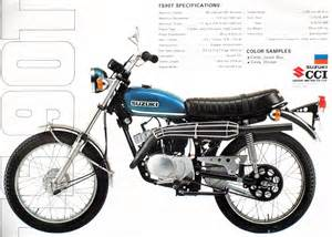 Suzuki Tc 90 Parts Suzuki Ts90 Brochure Scans