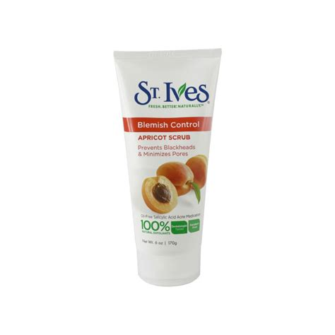 St Ives Blemish 170gr 1 st ives naturally clear blemish blackhead pore