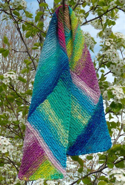 knit scarf pattern medium yarn multi directional scarf noro taiyo knitting pattern