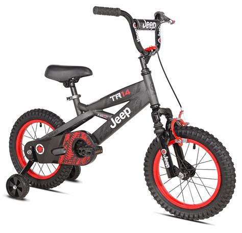 jeep bikes 14 inch boy s jeep bicycle with working suspension and