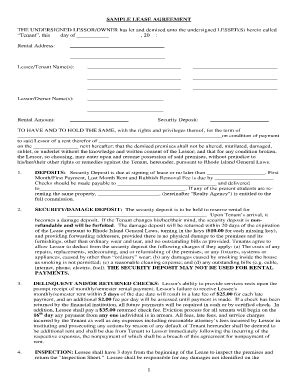 lessor lessee agreement template bill of sale form rhode island sublease agreement form