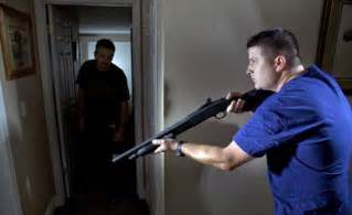 home defense shotgun vs home defense handgun gun carrier