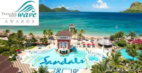 sandals resorts ranked sandals wins best all inclusive hotel chain for 2016