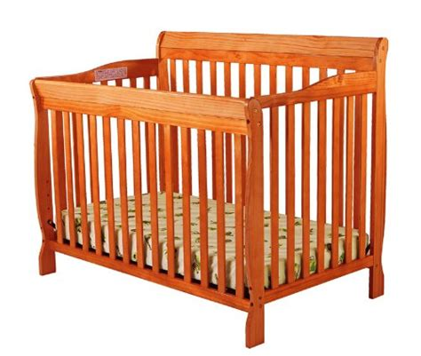 Cheap Convertible Crib On Me Ashton Convertible 4 In 1 Crib Pecan Cheap Price Babooss