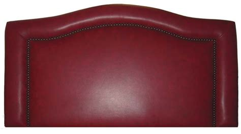 red leather headboard red leather ridge headboard western bedroom furniture
