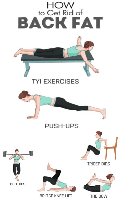 how to get rid of fat 25 best ideas about back fat on pinterest fat workout