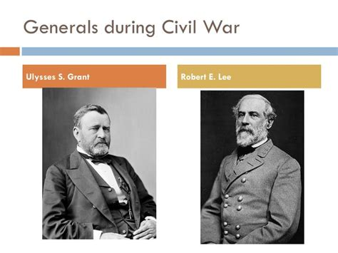 the commanders civil war generals who shaped the american west books ppt civil war 1861 1865 powerpoint presentation id 6397547