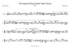 Imperial march darth vader s theme music scores stars wars soundtrack