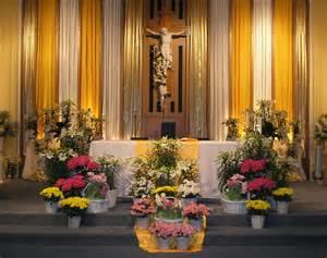 church altar decorations easter altar christian altars