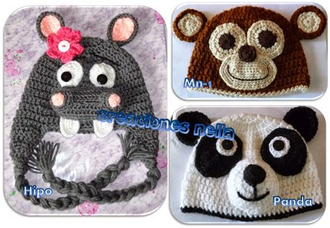 gorros tejidos en crochet para bebes de animalitos 2016 imagenes de gorros tejidos para ni 241 os de animales