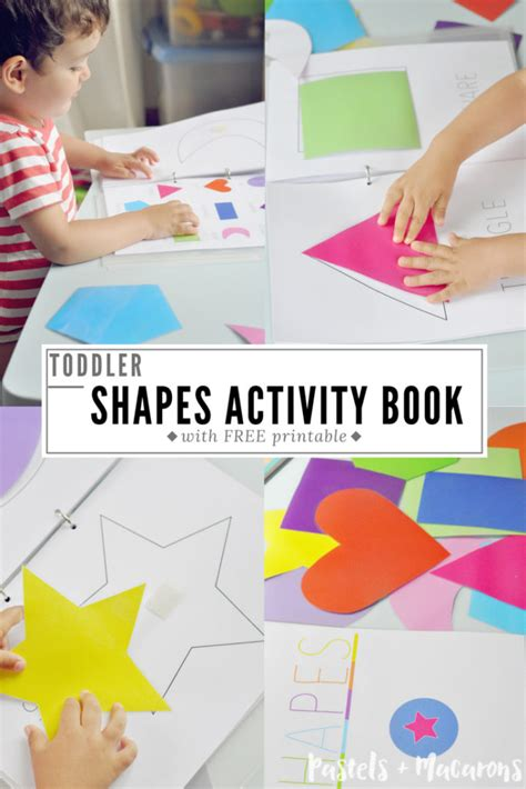 color book for toddler toddler shapes activity book