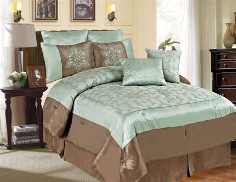 Aqua Comforter Set by Modal Title