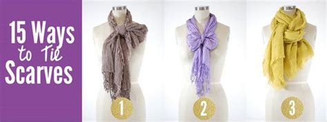 15 ways to tie a scarf and look fabulous dublinfashion