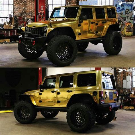 jeep gold sick gold wrapped jeep what are your thoughts