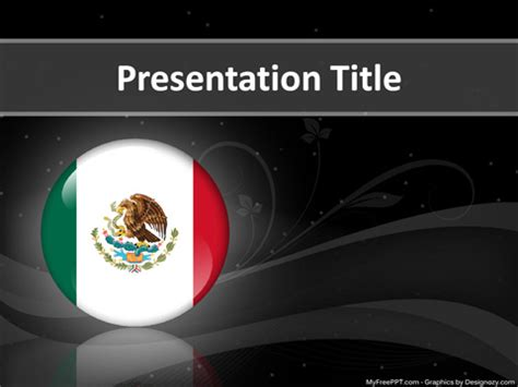 Mexican Themed Powerpoint Template Mexico Powerpoint Mexican Themed Powerpoint Template