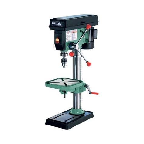 general 14 bench top drill press benchtop drill presses grizzly g7943 12 speed heavy duty