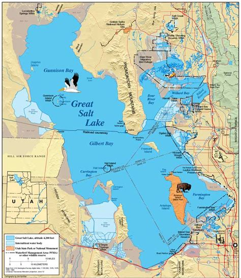 map world slc ut maps great salt lake map