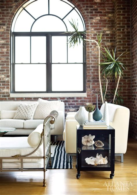 living room brick wall 59 cool living rooms with brick walls digsdigs