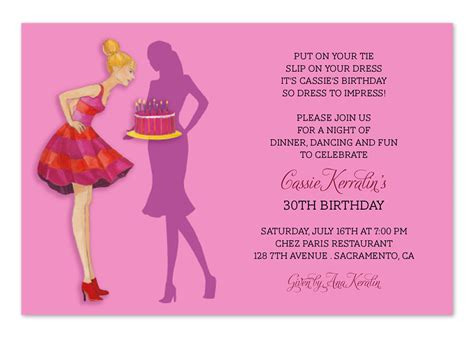 colors 30th birthday bbq invitation wording 30th birthday invitation wording