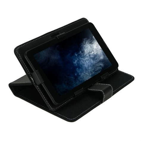 Leather Tablet 7inch 5x leather folder pouch cover for tablet for
