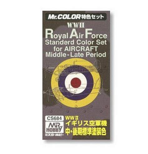 Mr Color 23 Green 2 Aircraft Cat Gundam Model Kit Paint mr hobby wwii royal air standerd color set for aircraft middle late period c361 c362 c363