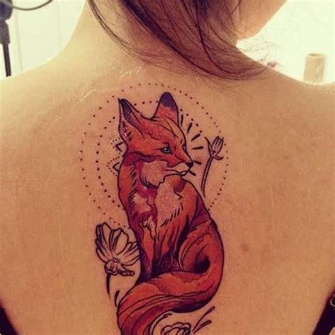 animal tattoo female fox animal tattoo designs pictures to pin on pinterest