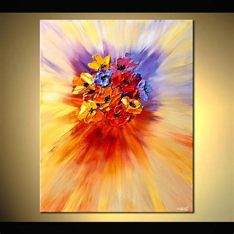 the modern flower painter best 20 abstract flower paintings ideas on