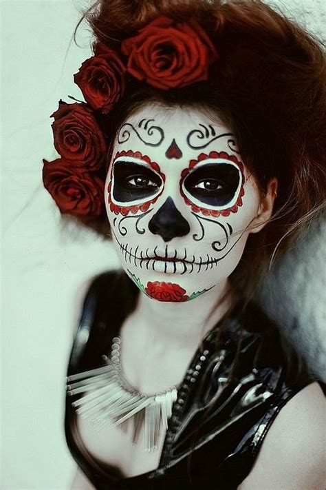 halloween hairstyles day of the dead scariest halloween makeup for day of the dead