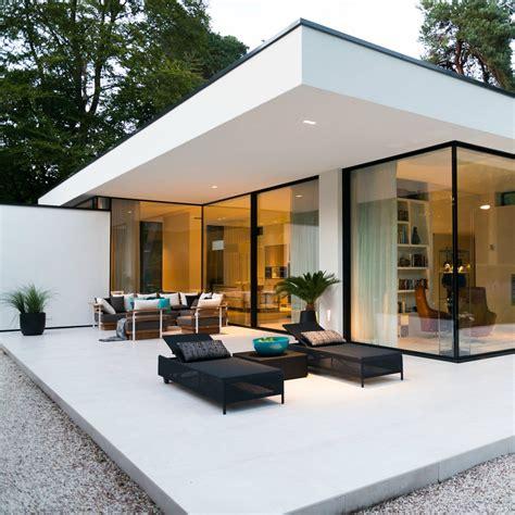 contemporary bungalows leem wonen keek binnen bij een bijzonderen moderne