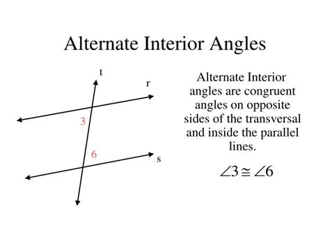 ppt angles formed by transversal and parallel lines