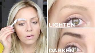 Eyebrows Are Light by Diy How To Lighten Or Darken Your Eyebrows The Salon