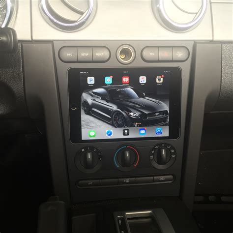 dash for the 05 09 ford mustang mini nexus 7 dash kit