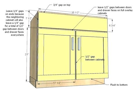 standard base cabinet height standard kitchen cabinet door measurements