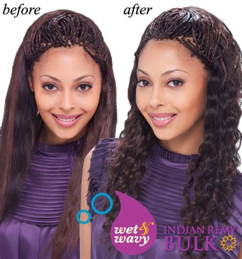 human hair wet and wavy micro braids sensationnel janet collection indian remi wet wavy human hair braid