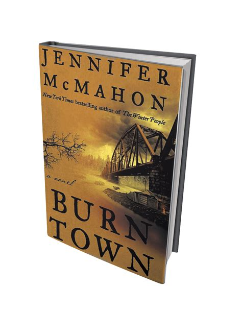 burntown a novel books book review burntown by mcmahon books