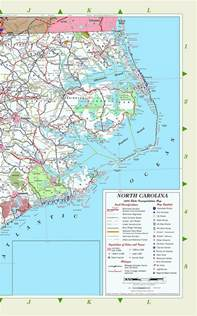map of eastern carolina map