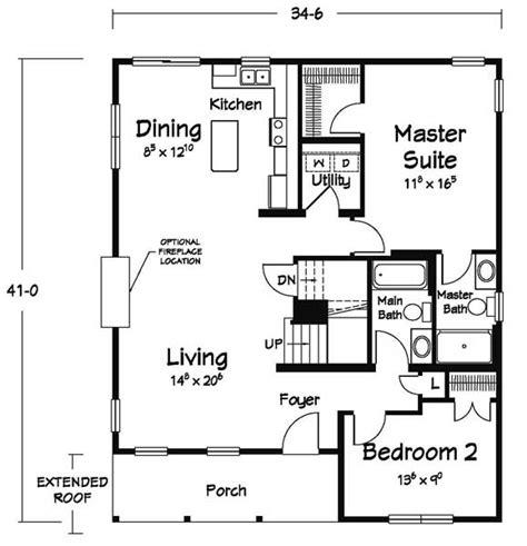 cozy cottage floor plans martell home builders