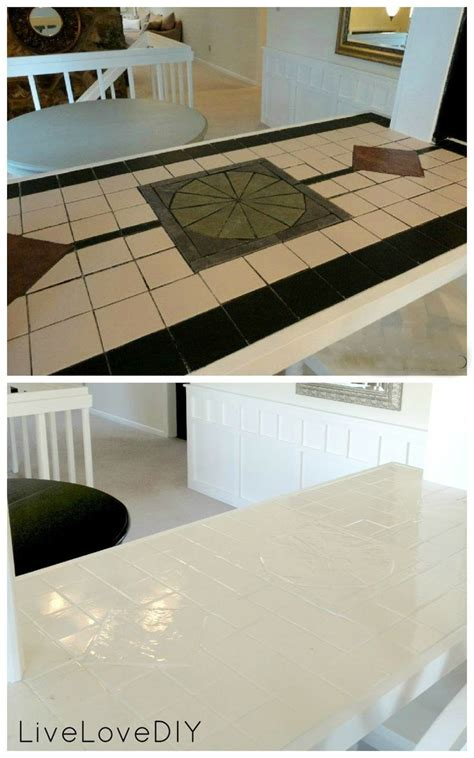 Paint Tile Countertop by Best 25 Painting Tile Countertops Ideas On