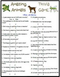 amazing animals trivia has some fun and interesting facts