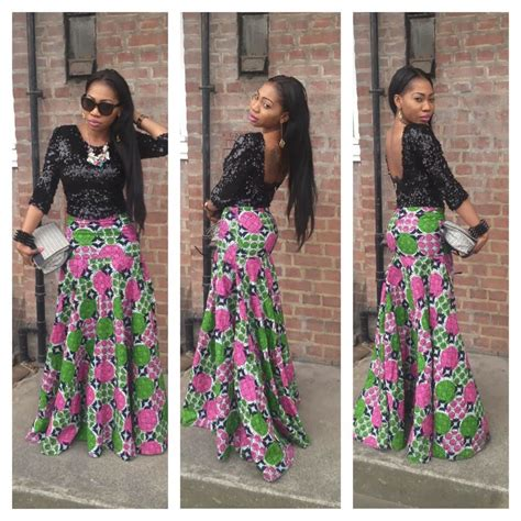 nice ankara styles ankara long skirt and top dezango fashion zone